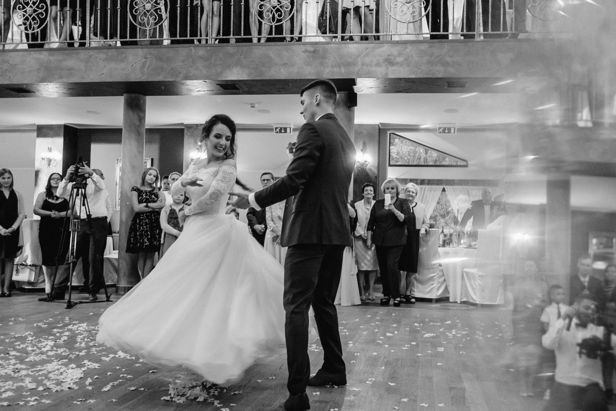 Joanna i Emil | przyjęcie ślubne w Hotelu Atrium 55