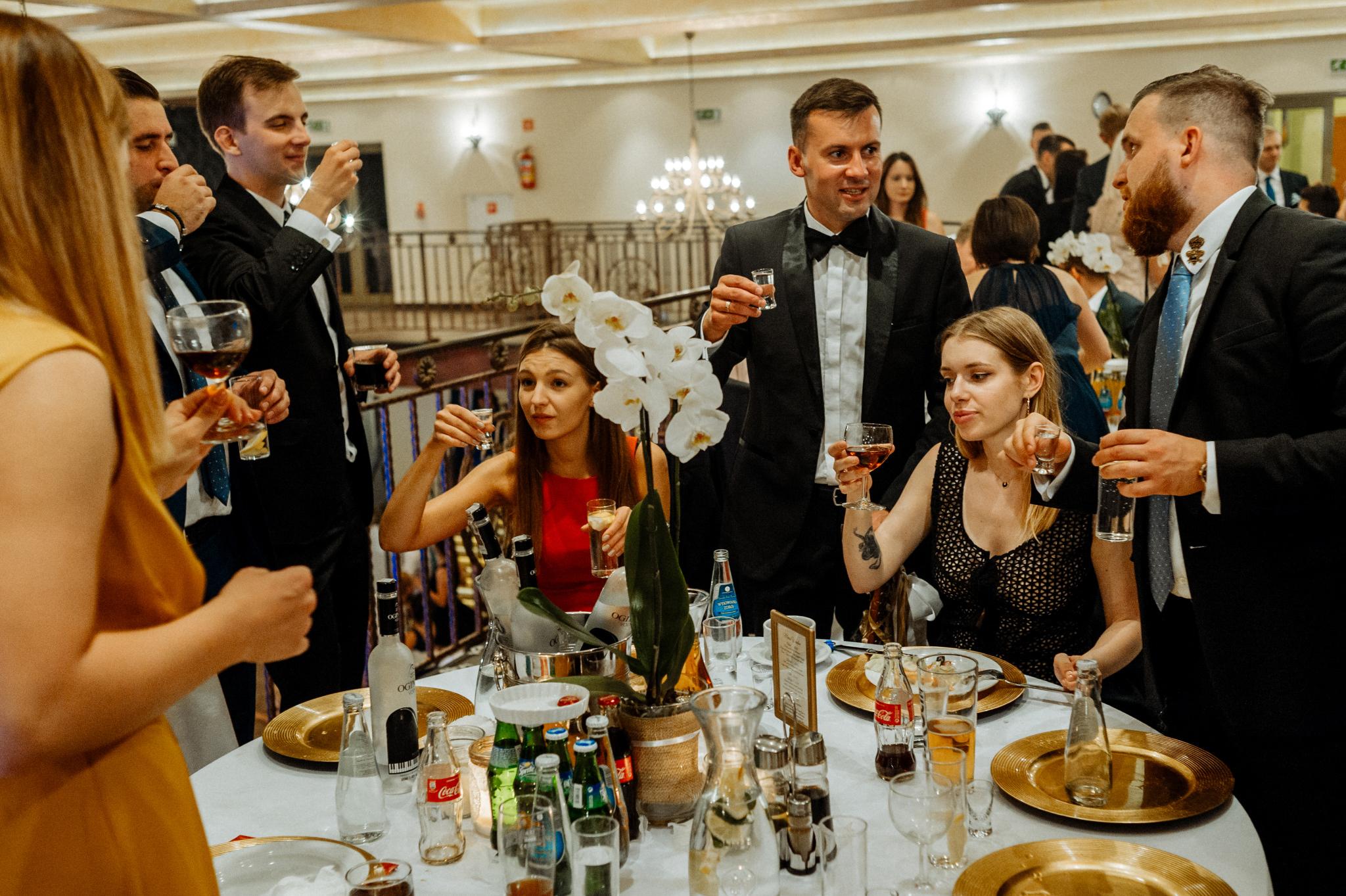 Joanna i Emil | przyjęcie ślubne w Hotelu Atrium 60