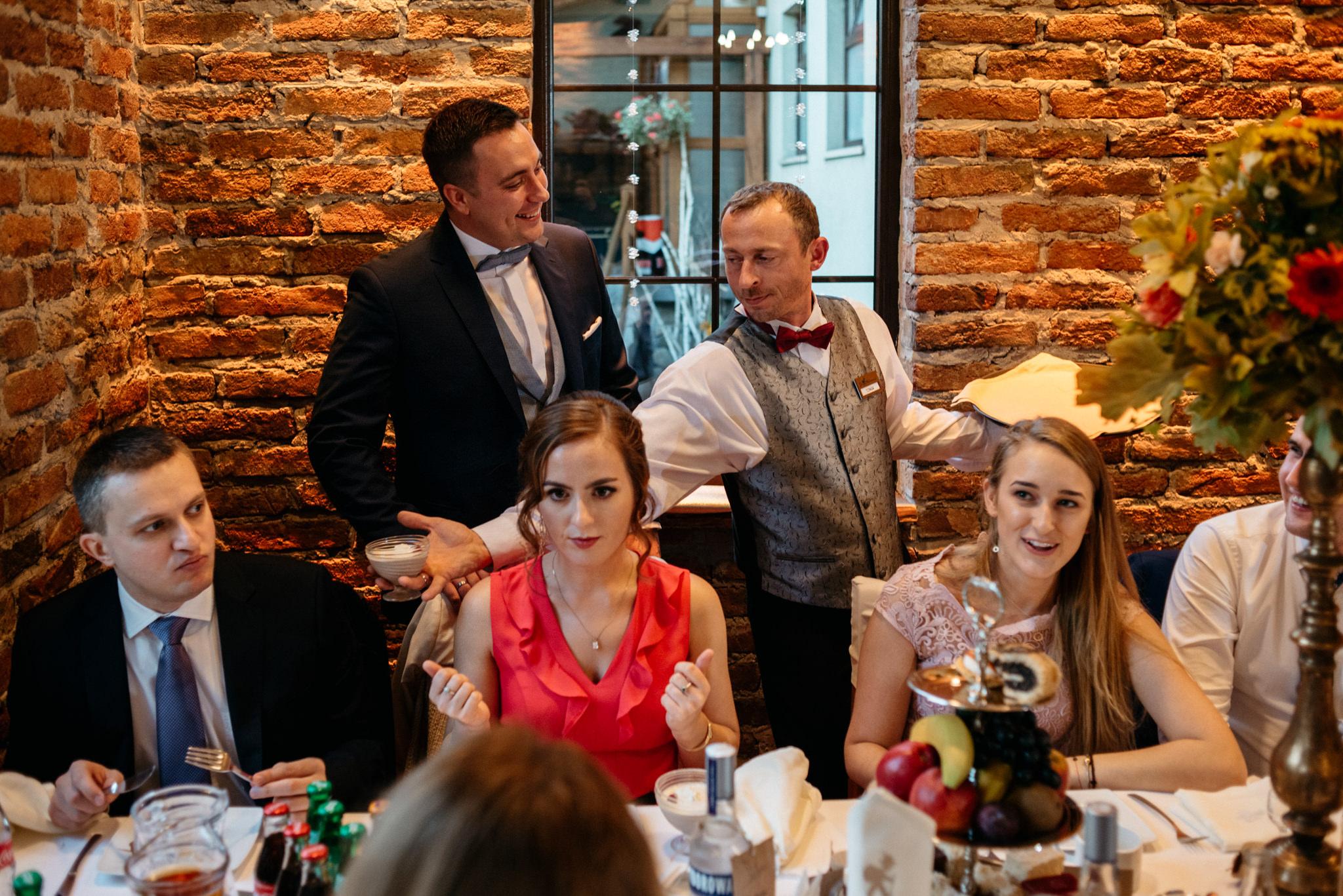 Przyjęcie Karoliny i Alana | Jaś Wędrowniczek w Rymanowie | Praca w duecie 84