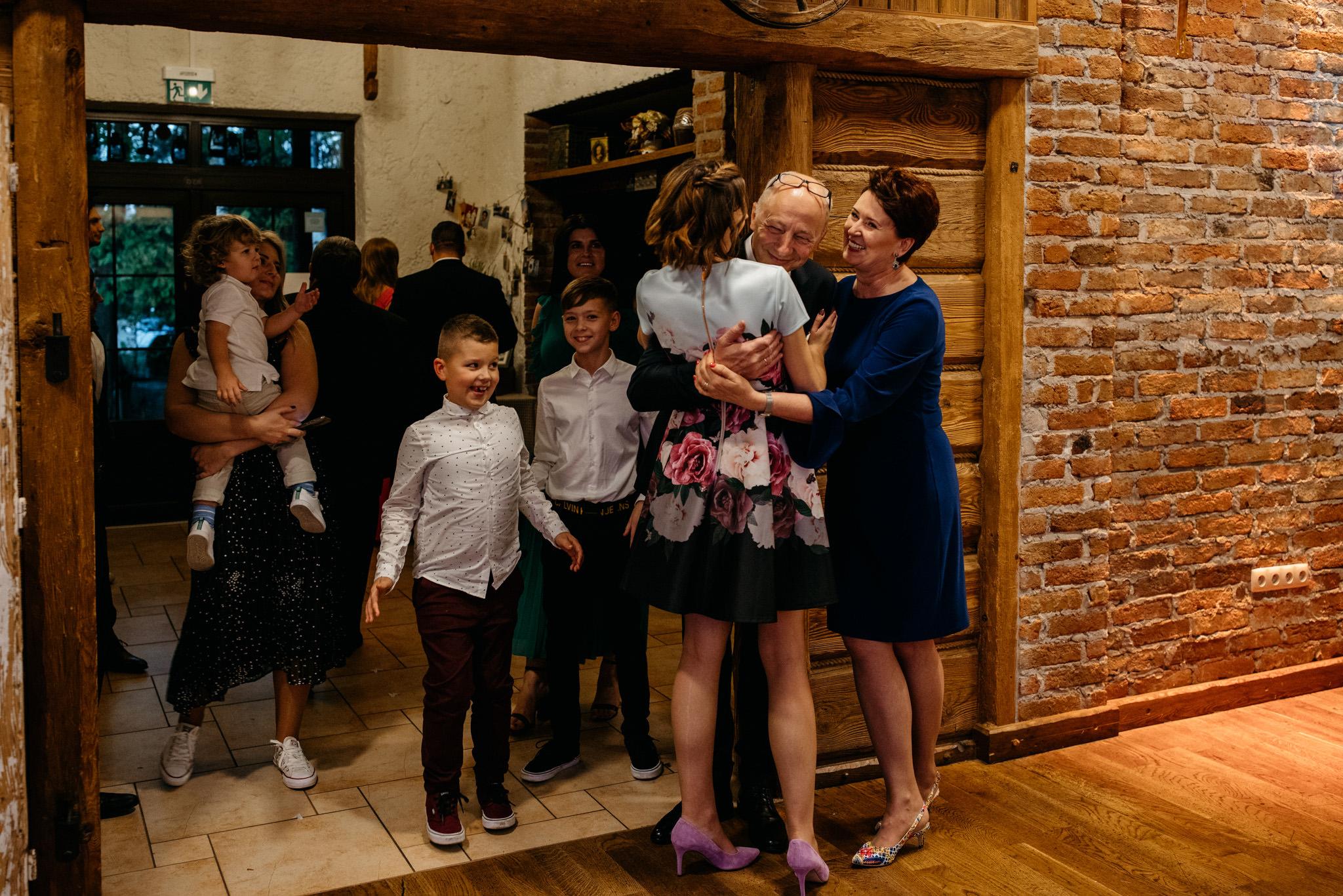 Przyjęcie Karoliny i Alana | Jaś Wędrowniczek w Rymanowie | Praca w duecie 86
