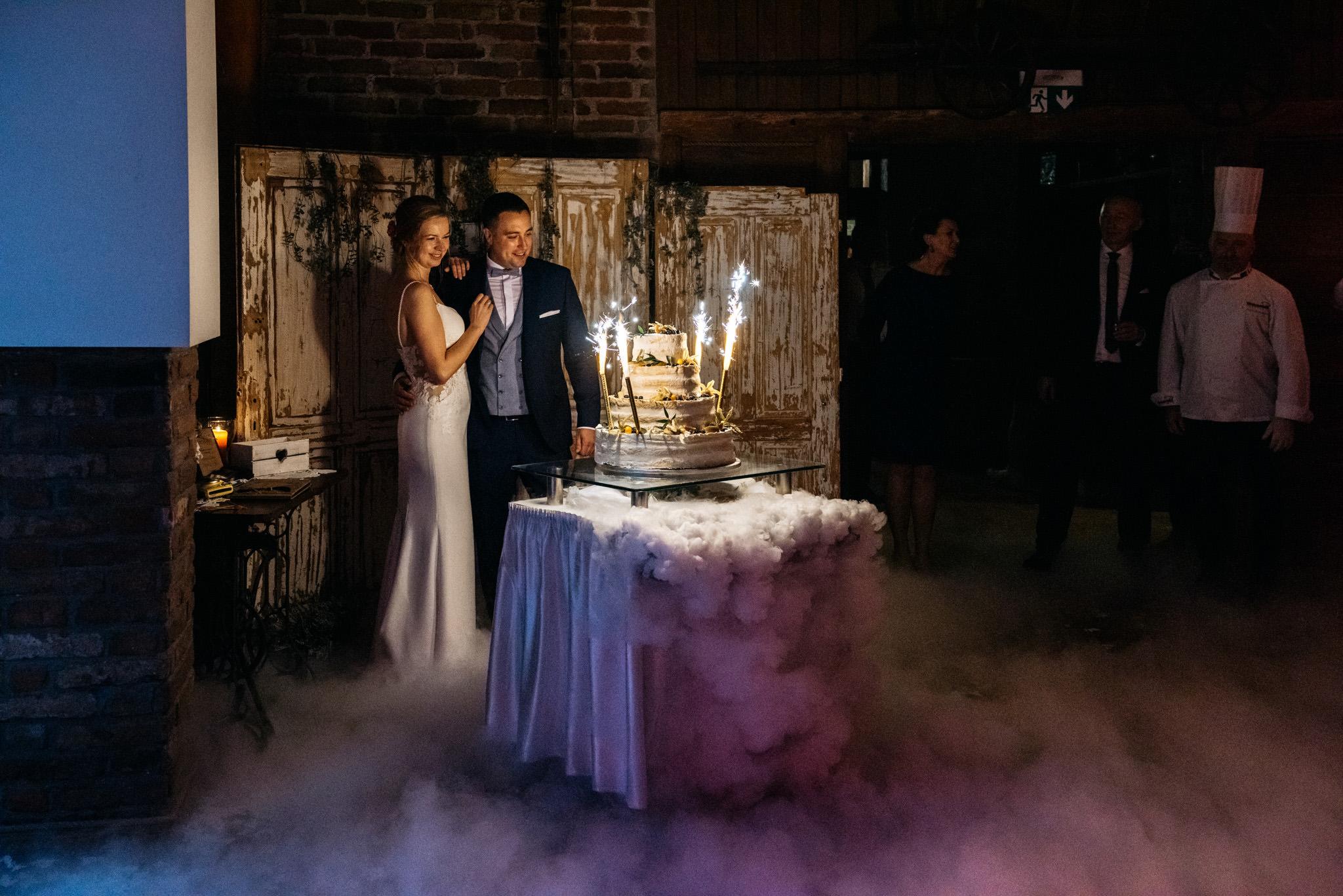 Przyjęcie Karoliny i Alana | Jaś Wędrowniczek w Rymanowie | Praca w duecie 108