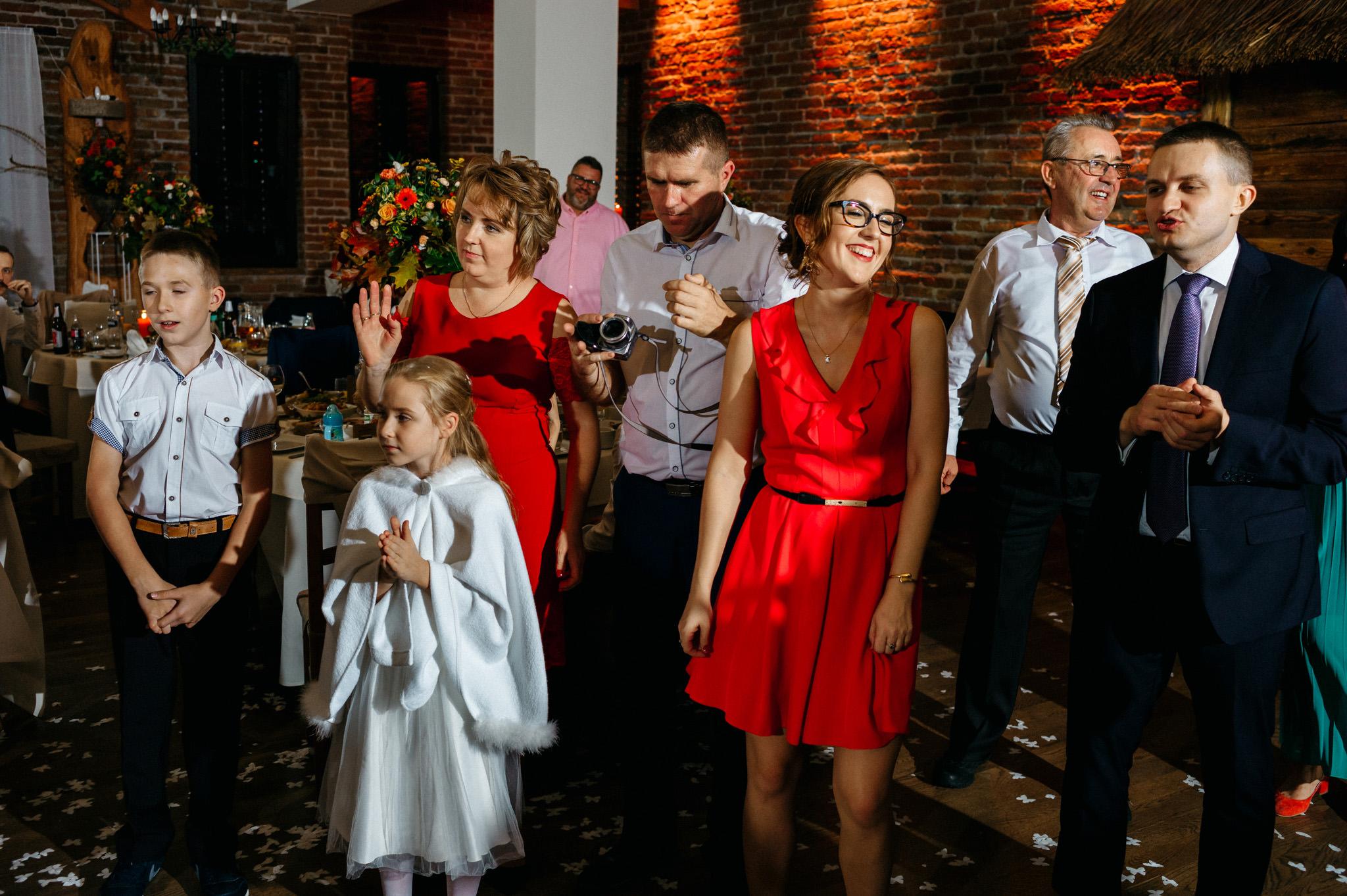 Przyjęcie Karoliny i Alana | Jaś Wędrowniczek w Rymanowie | Praca w duecie 110