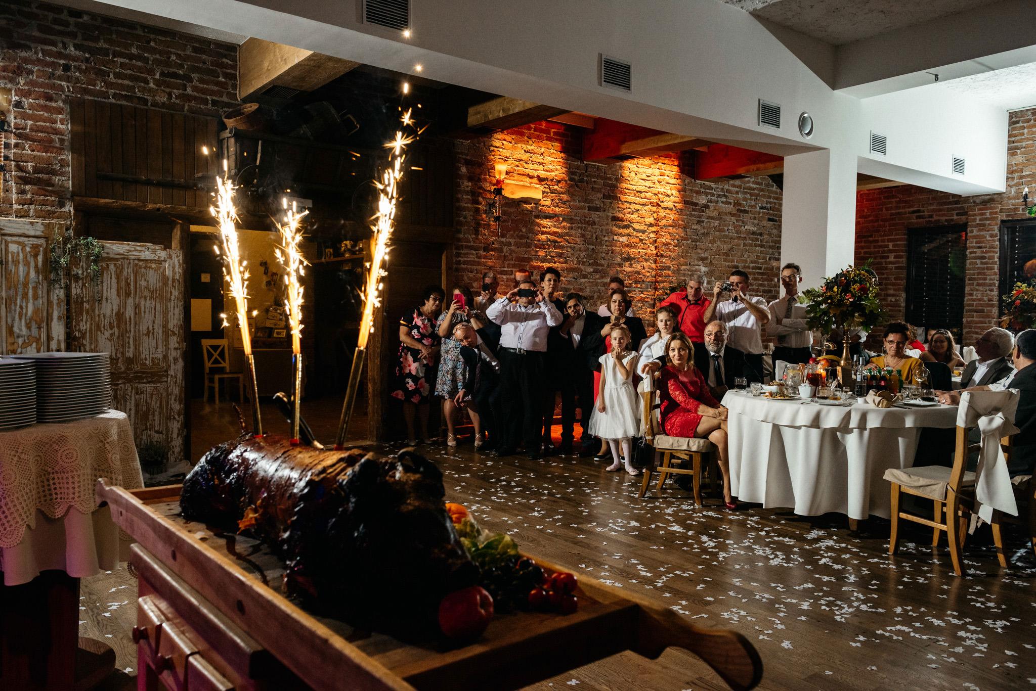 Przyjęcie Karoliny i Alana | Jaś Wędrowniczek w Rymanowie | Praca w duecie 122