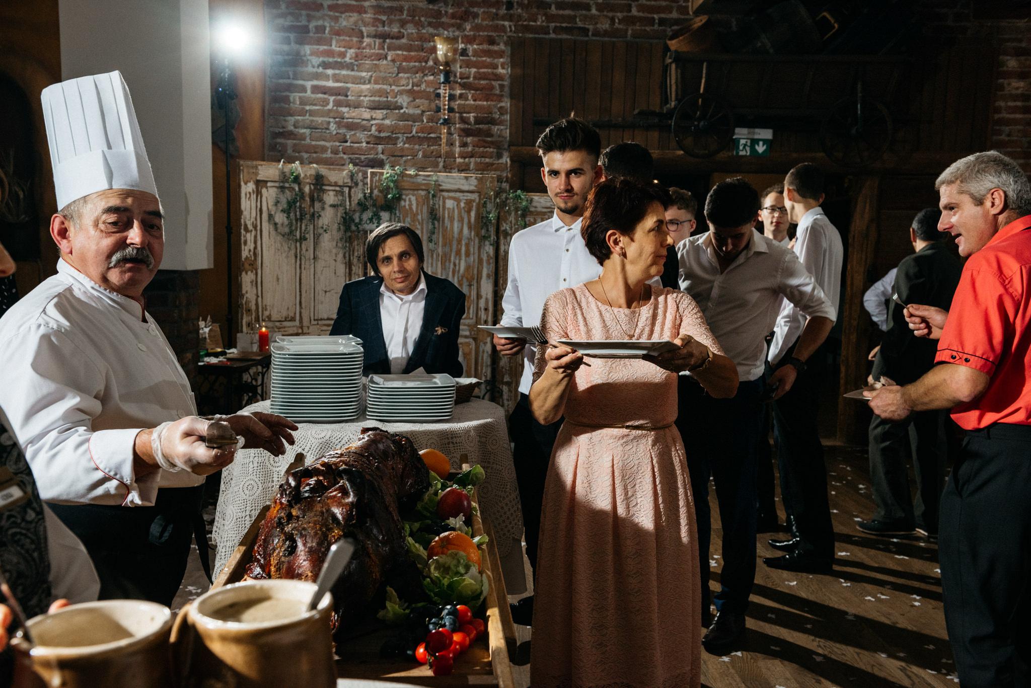 Przyjęcie Karoliny i Alana | Jaś Wędrowniczek w Rymanowie | Praca w duecie 124