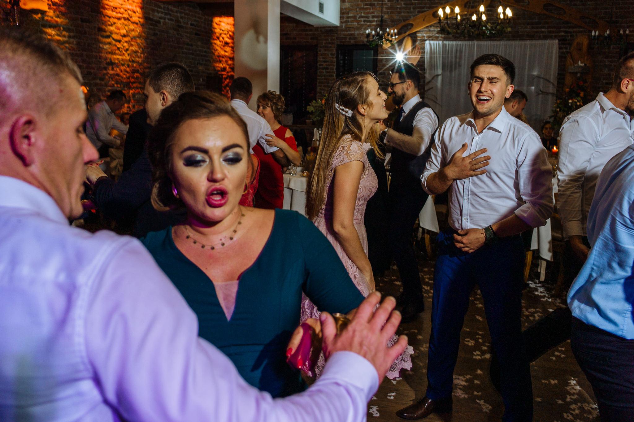 Przyjęcie Karoliny i Alana | Jaś Wędrowniczek w Rymanowie | Praca w duecie 125