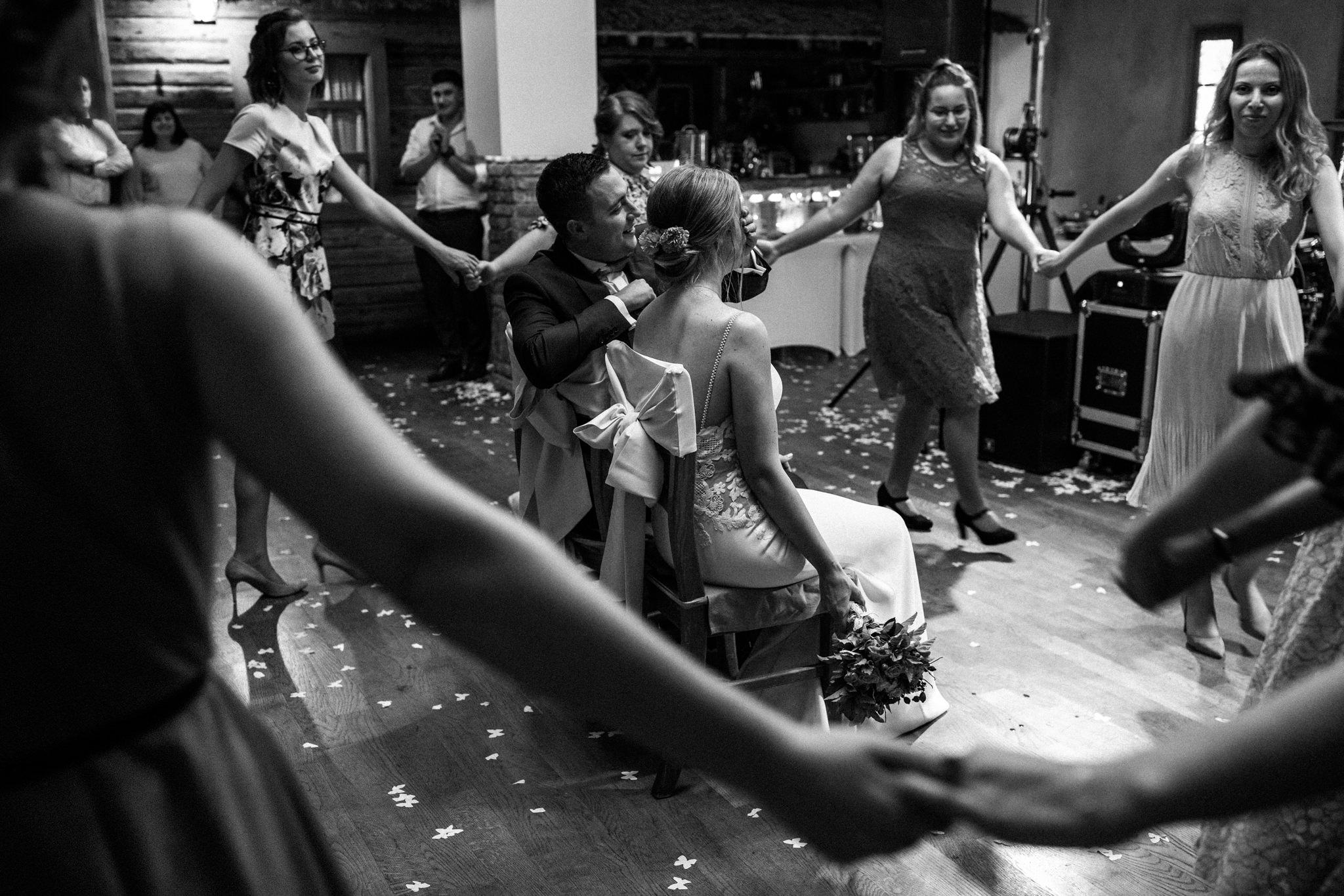 Przyjęcie Karoliny i Alana | Jaś Wędrowniczek w Rymanowie | Praca w duecie 133