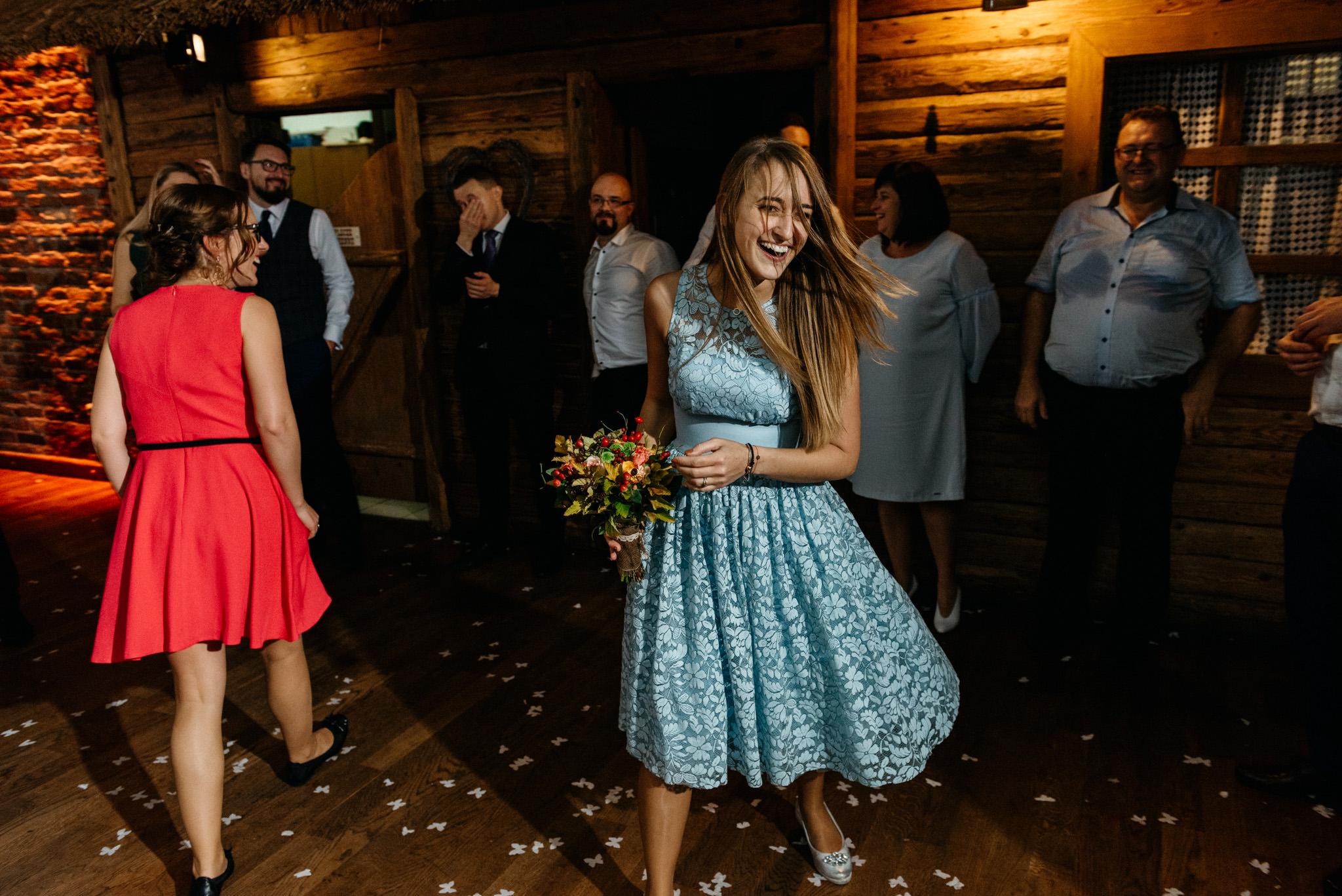 Przyjęcie Karoliny i Alana | Jaś Wędrowniczek w Rymanowie | Praca w duecie 135