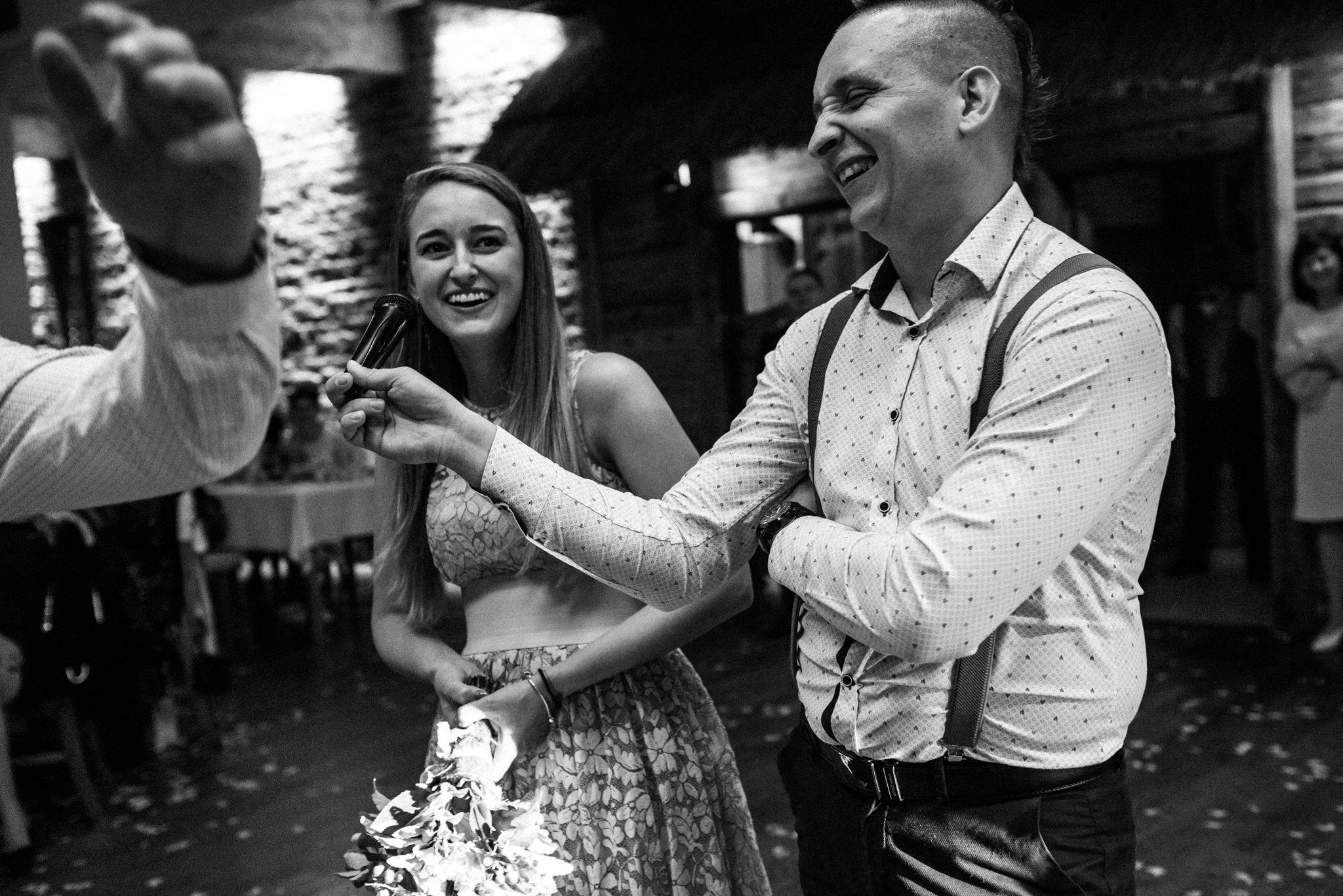 Przyjęcie Karoliny i Alana | Jaś Wędrowniczek w Rymanowie | Praca w duecie 142