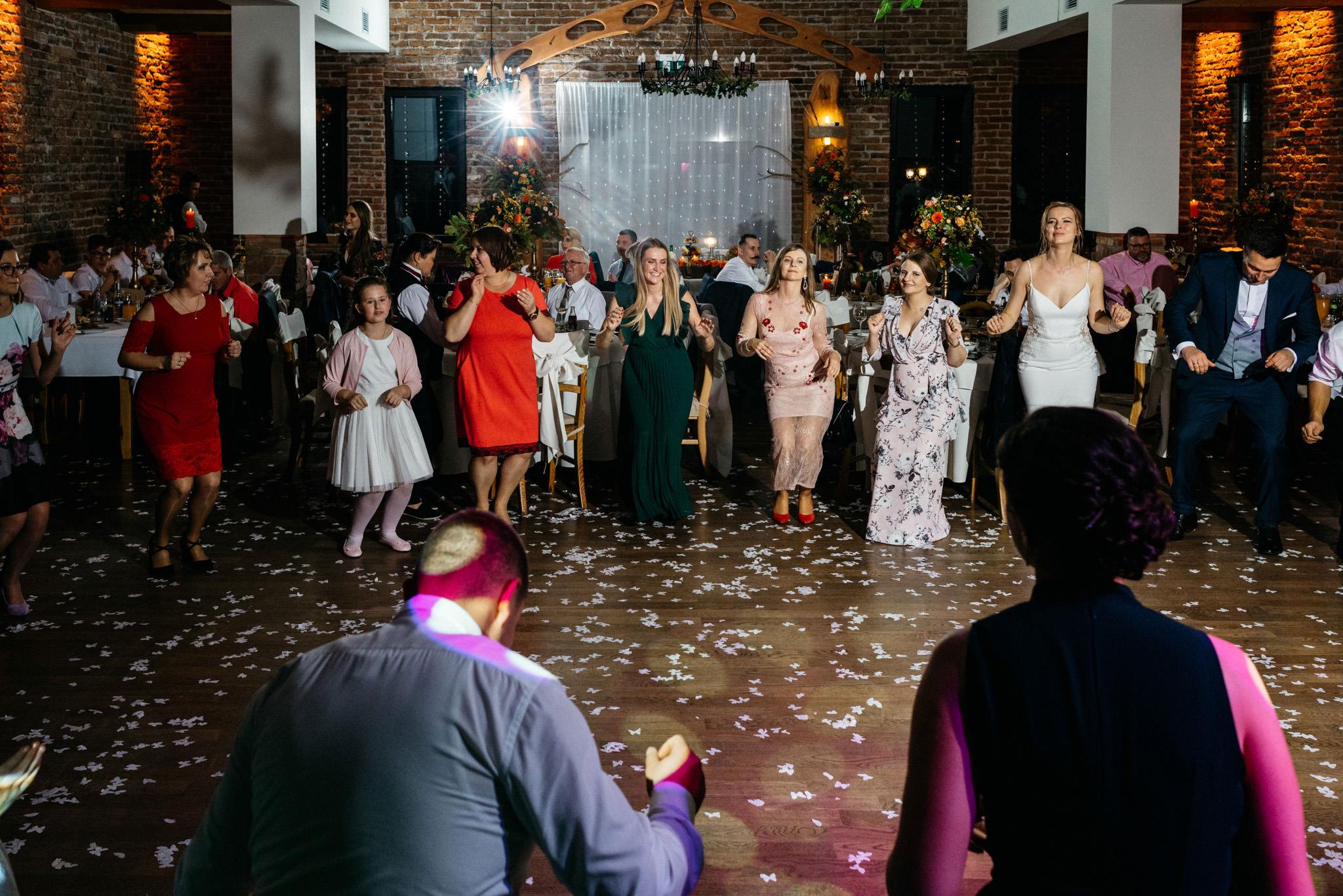 Przyjęcie Karoliny i Alana | Jaś Wędrowniczek w Rymanowie | Praca w duecie 148