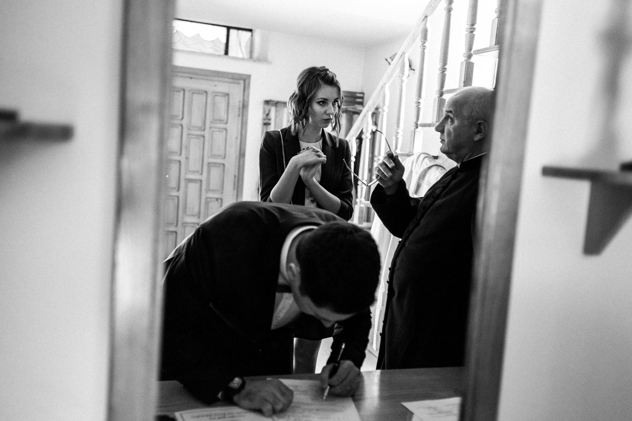 Przyjęcie Karoliny i Alana | Jaś Wędrowniczek w Rymanowie | Praca w duecie 30