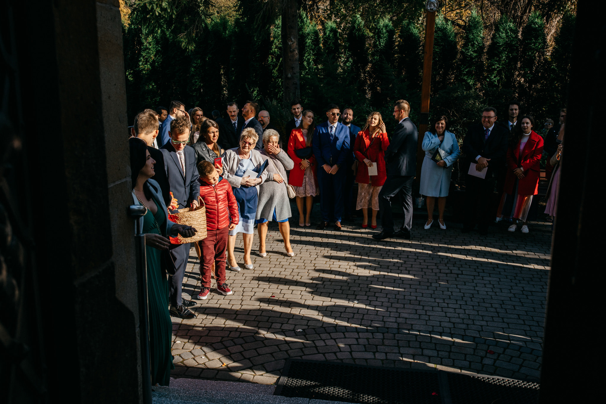 Przyjęcie Karoliny i Alana | Jaś Wędrowniczek w Rymanowie | Praca w duecie 44