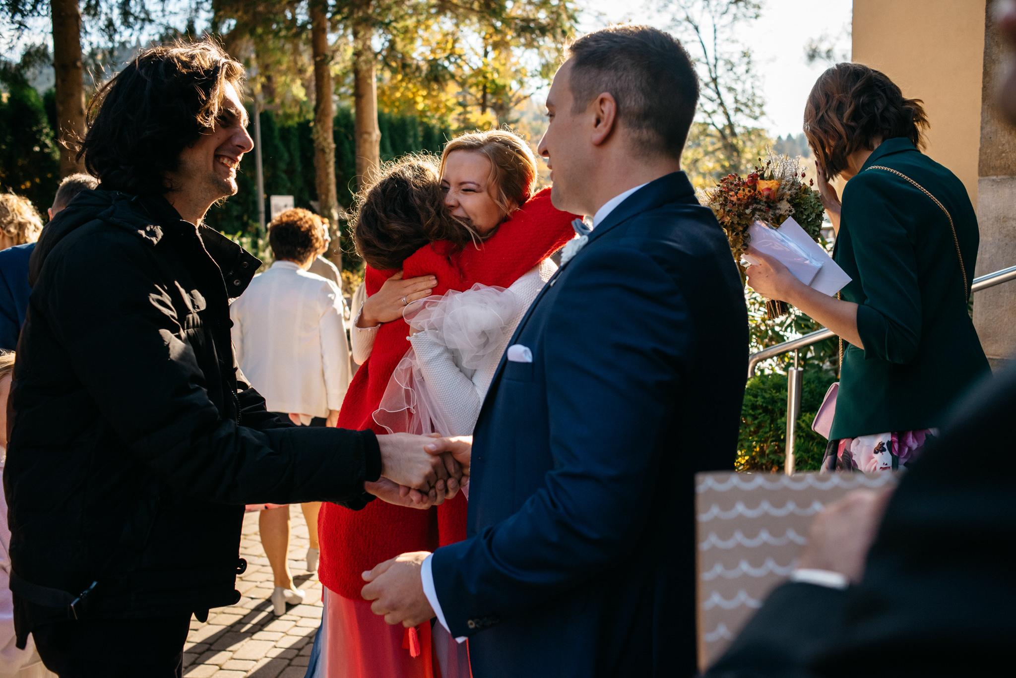 Przyjęcie Karoliny i Alana | Jaś Wędrowniczek w Rymanowie | Praca w duecie 56
