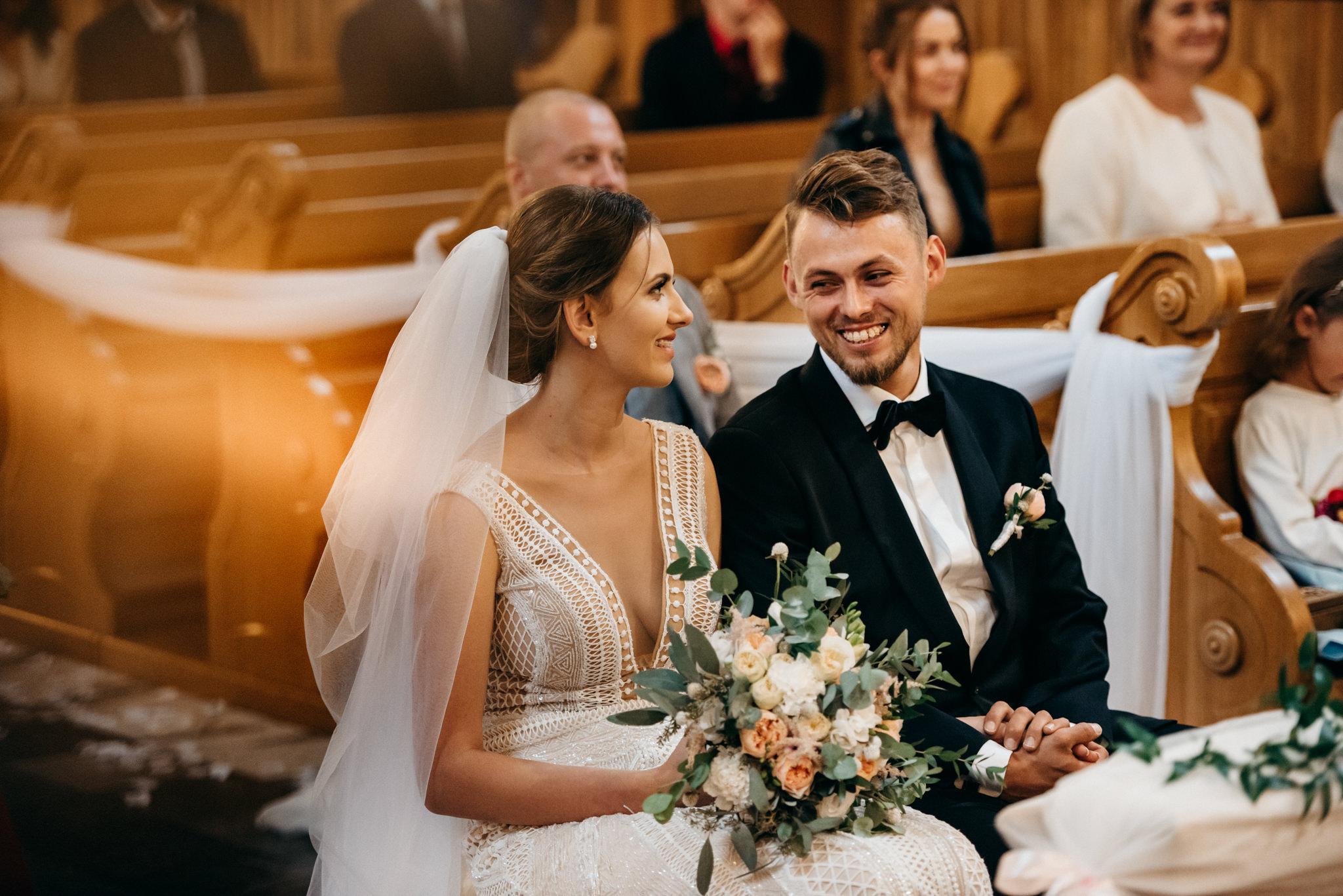 Iza i Dawid | Stylowy ślub z niesamowitą energią 41