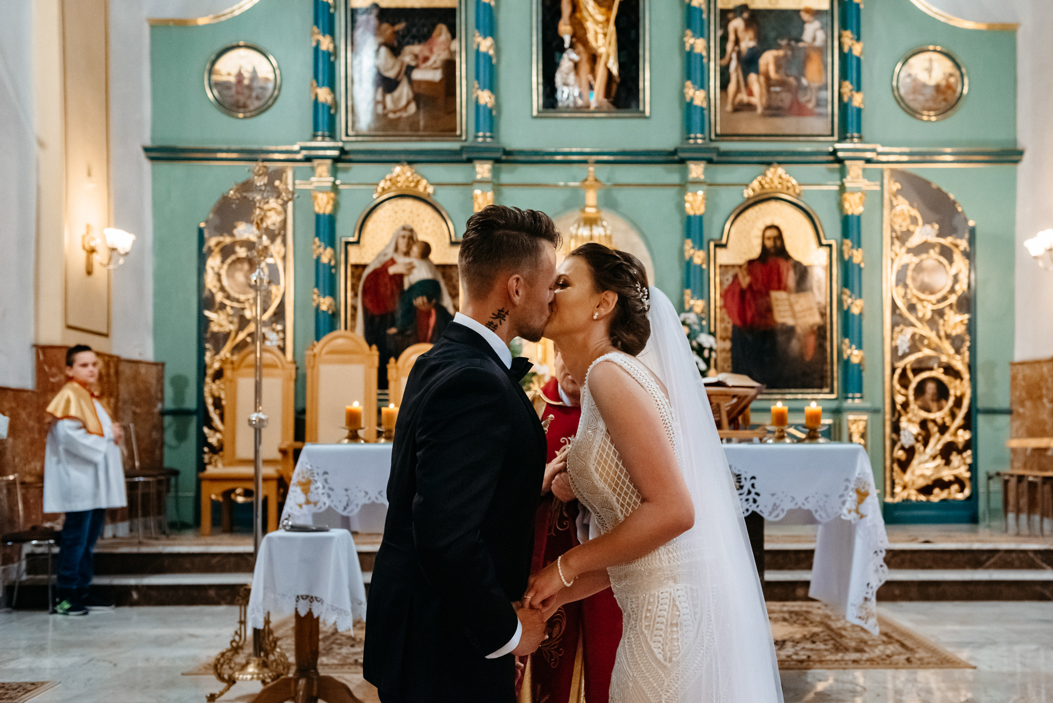 Iza i Dawid | Stylowy ślub z niesamowitą energią 45