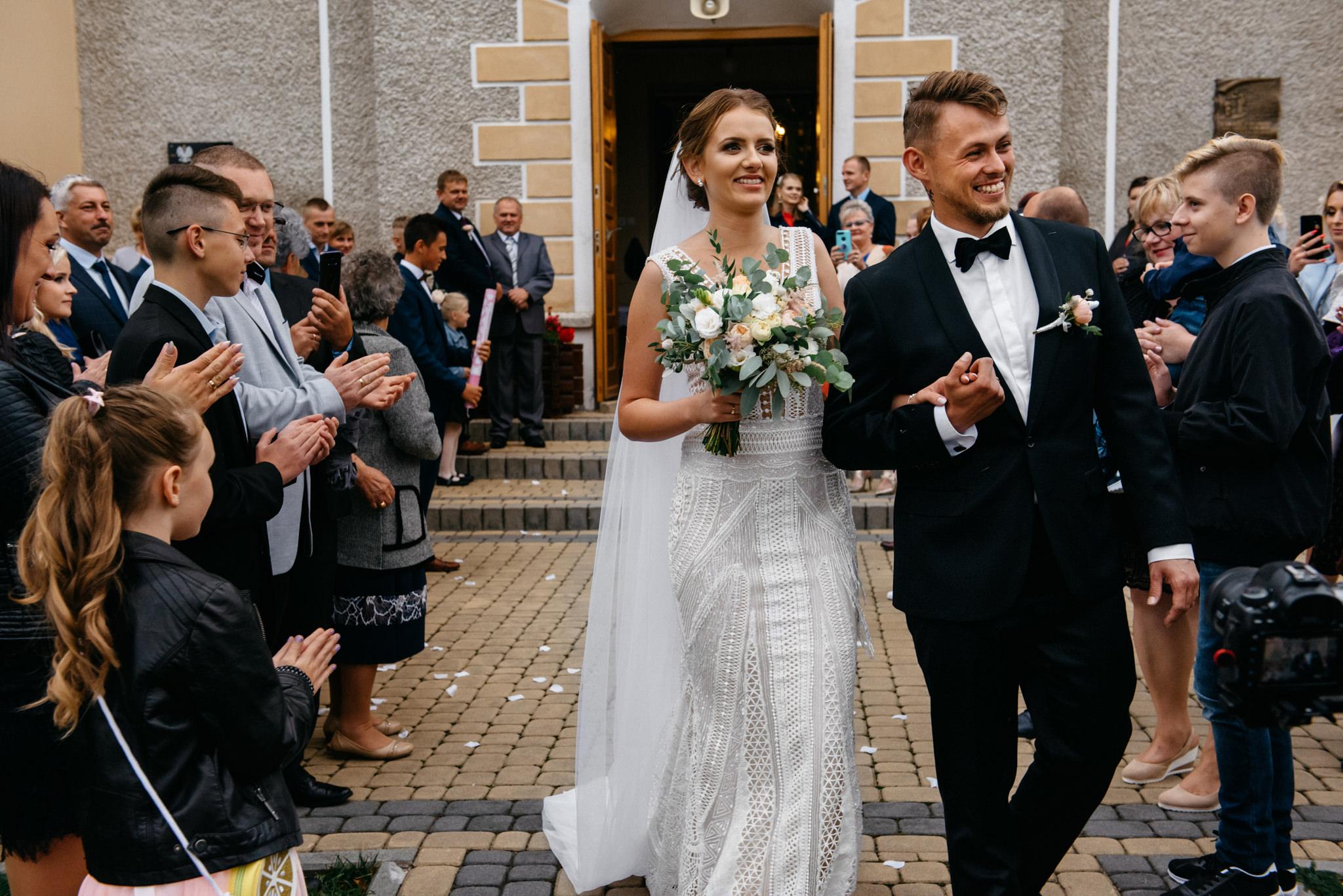 Iza i Dawid | Stylowy ślub z niesamowitą energią 50