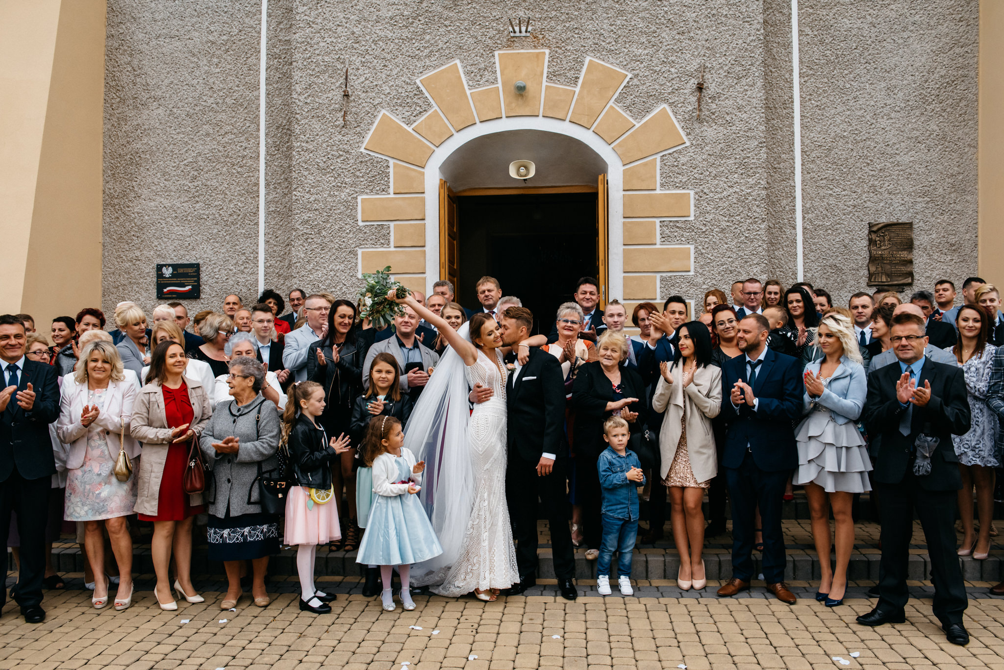 Iza i Dawid | Stylowy ślub z niesamowitą energią 51