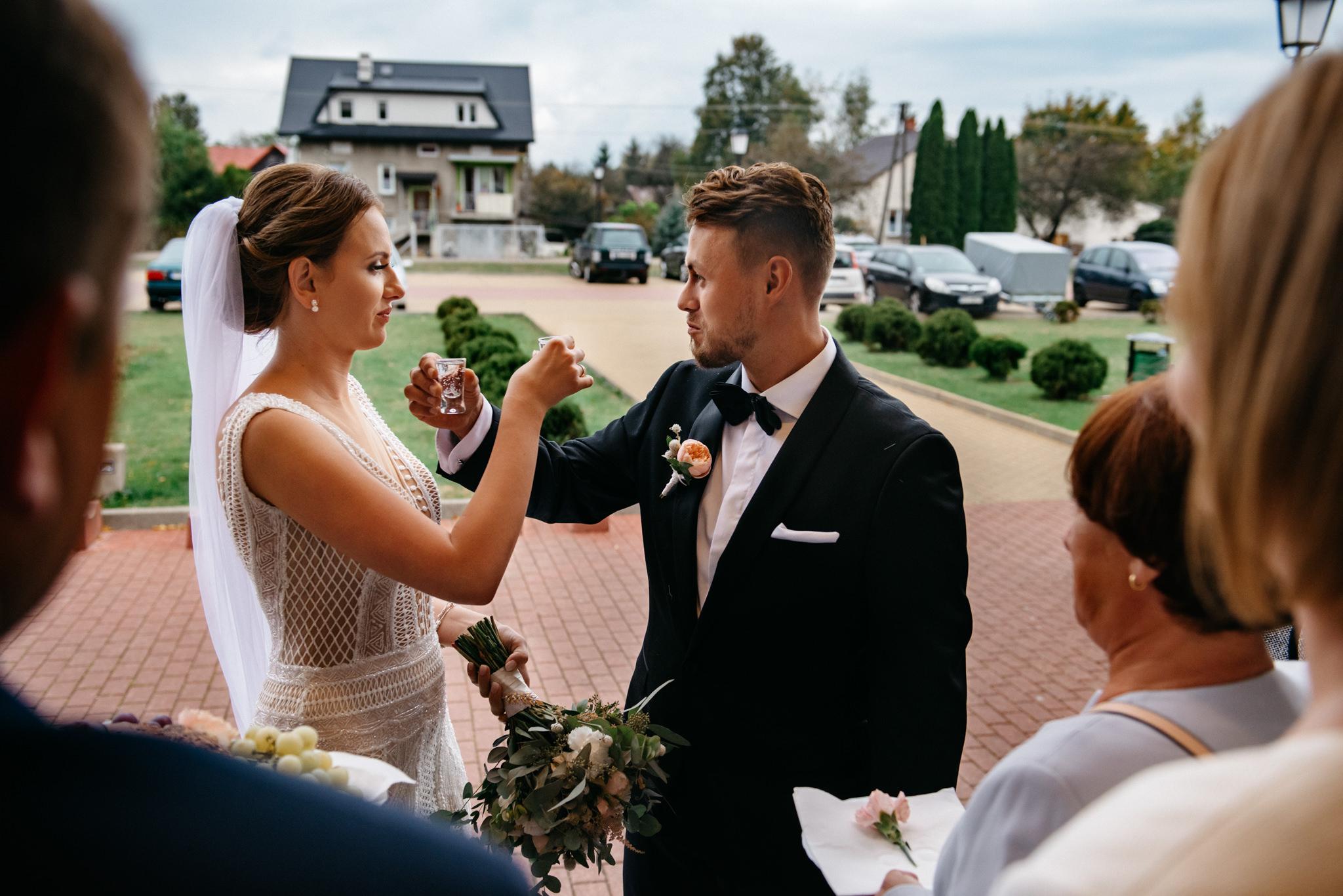 Iza i Dawid | Stylowy ślub z niesamowitą energią 59