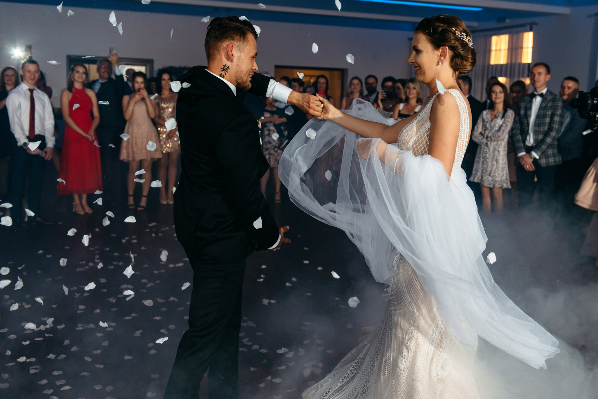 Iza i Dawid | Stylowy ślub z niesamowitą energią 72