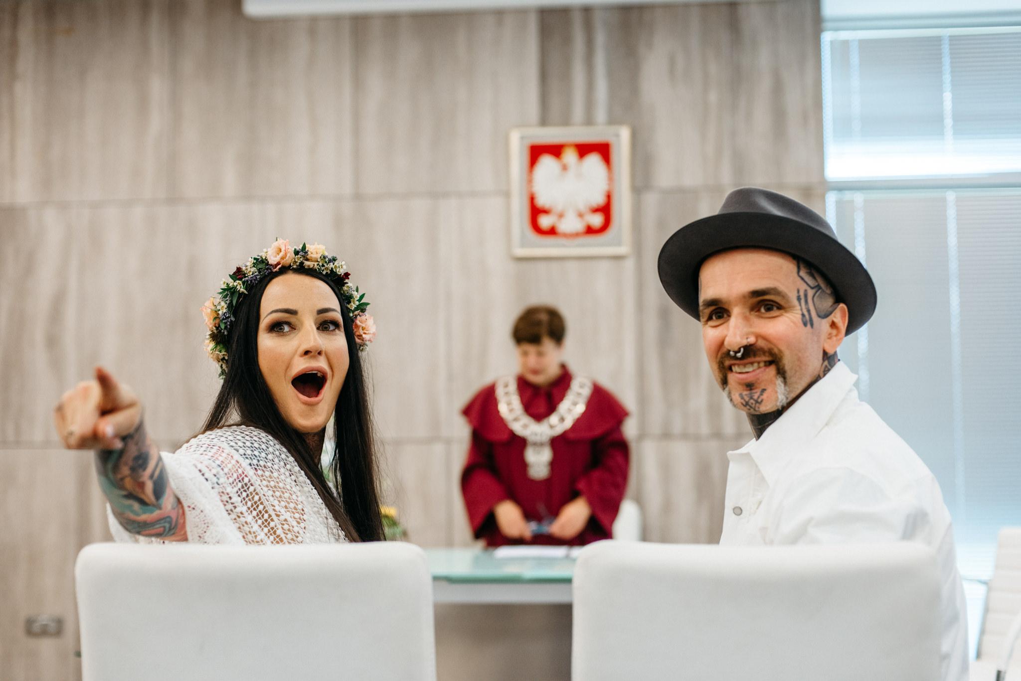 Szalony ślub Agaty i Dominika | Studio Mąka w Warszawie 39