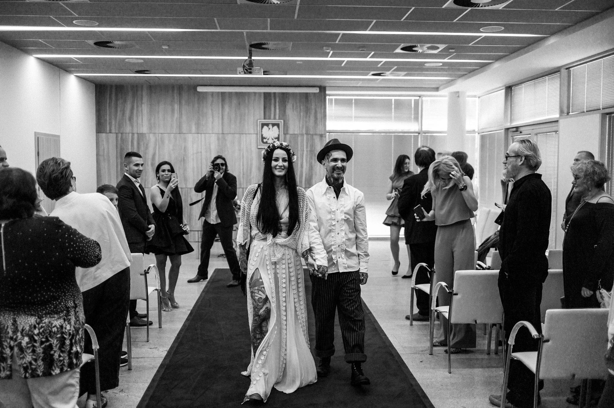 Szalony ślub Agaty i Dominika | Studio Mąka w Warszawie 46