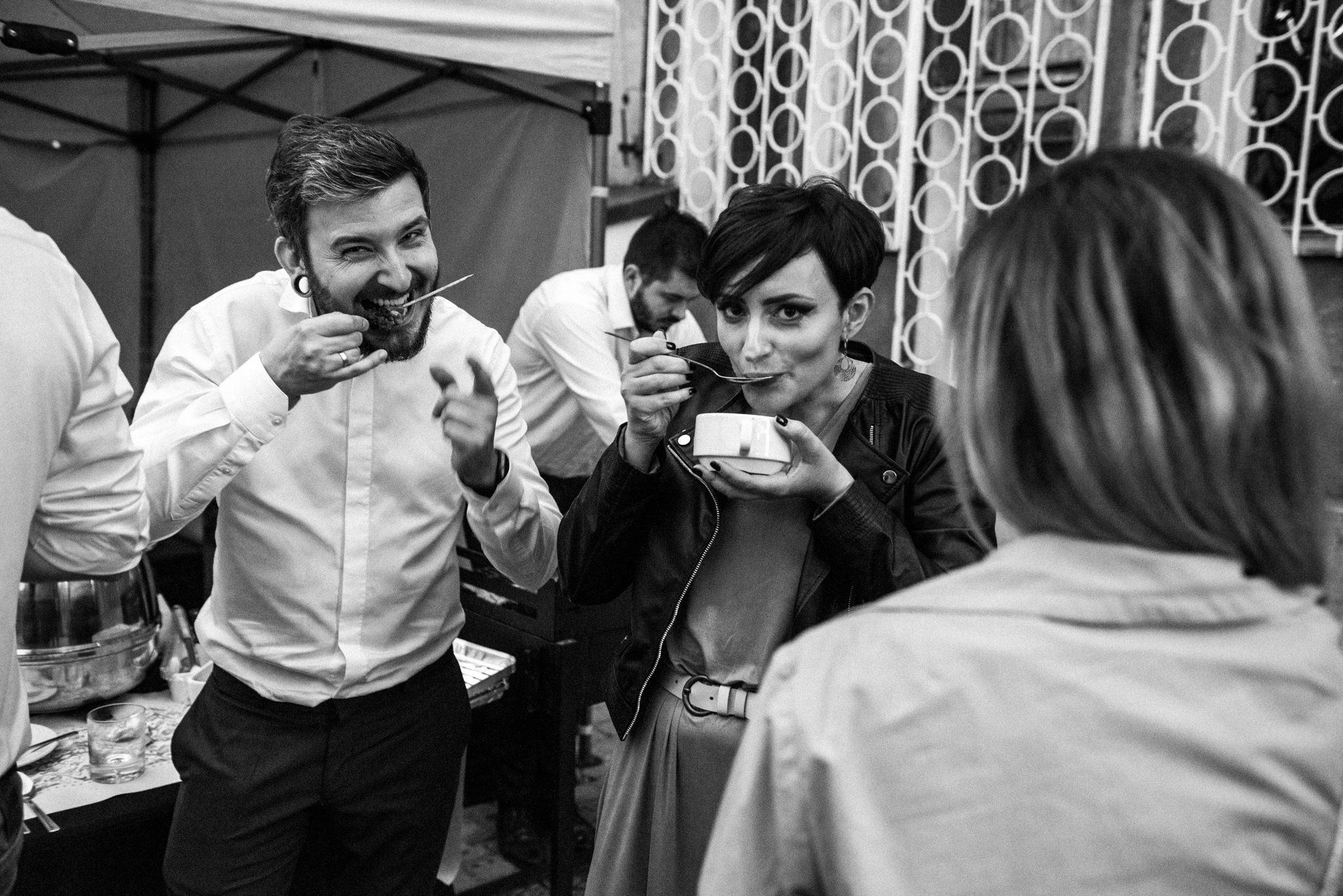 Szalony ślub Agaty i Dominika | Studio Mąka w Warszawie 66