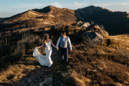 Jesienna sesja ślubna w Bieszczadach | Karolina i Alan 5