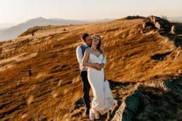 Jesienna sesja ślubna w Bieszczadach | Karolina i Alan 109