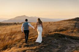 Jesienna sesja ślubna w Bieszczadach | Karolina i Alan 15