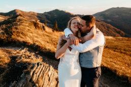 Jesienna sesja ślubna w Bieszczadach | Karolina i Alan 110
