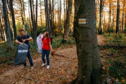 Jesienna sesja ślubna w Bieszczadach | Karolina i Alan 98