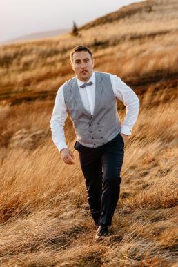 Jesienna sesja ślubna w Bieszczadach | Karolina i Alan 12
