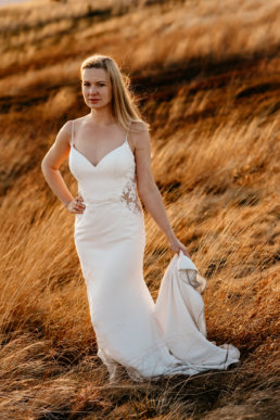 Jesienna sesja ślubna w Bieszczadach | Karolina i Alan 10