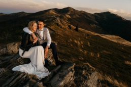 Jesienna sesja ślubna w Bieszczadach | Karolina i Alan 21