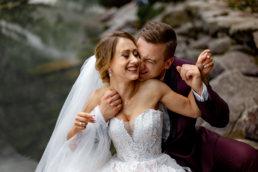 Urokliwa sesja ślubna Patrycji i Jakuba nad Morskim Okiem | Tatry 14