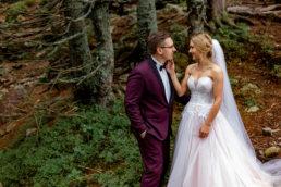 Urokliwa sesja ślubna Patrycji i Jakuba nad Morskim Okiem | Tatry 12