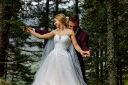 Urokliwa sesja ślubna Patrycji i Jakuba nad Morskim Okiem | Tatry 18