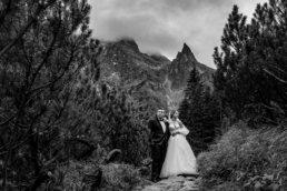 Sesja ślubna Patrycji i Jakuba nad Morskim Okiem | Tatry 5