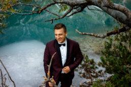 Urokliwa sesja ślubna Patrycji i Jakuba nad Morskim Okiem | Tatry 5