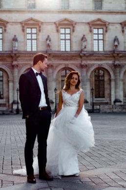 Romantyczna sesja ślubna w Paryżu | Karolina i Tomek 128