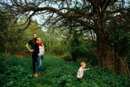 Zaskakujący pomysł na sesje rodzinną | spacer w Bieszczadach 3