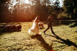 Słowiańska sesja ślubna | skansen w Sanoku 61