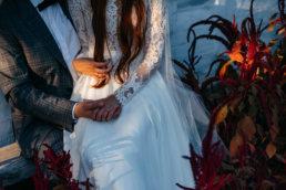 Słowiańska sesja ślubna | skansen w Sanoku 56