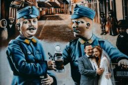Słowiańska sesja ślubna | skansen w Sanoku 60