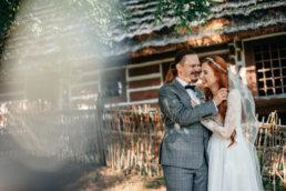 Słowiańska sesja ślubna | skansen w Sanoku 46