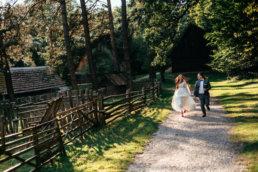 Słowiańska sesja ślubna | skansen w Sanoku 53