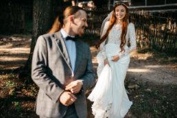 Słowiańska sesja ślubna | skansen w Sanoku 44