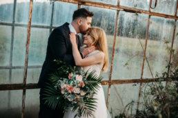 Sesja ślubna w opuszczonej szklarni | Ania i Maciek 1