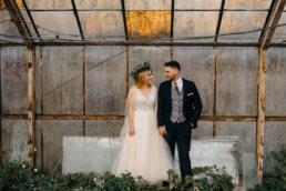 Sesja ślubna w opuszczonej szklarni | Ania i Maciek 10