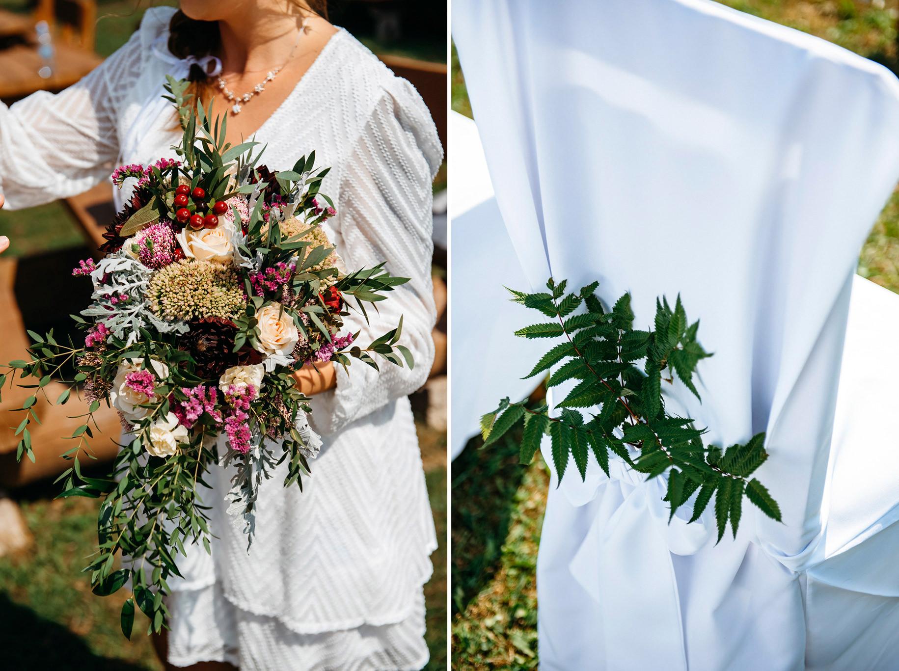 Plenerowy ślub w Bieszczadach | Karolina i Bartosz 16