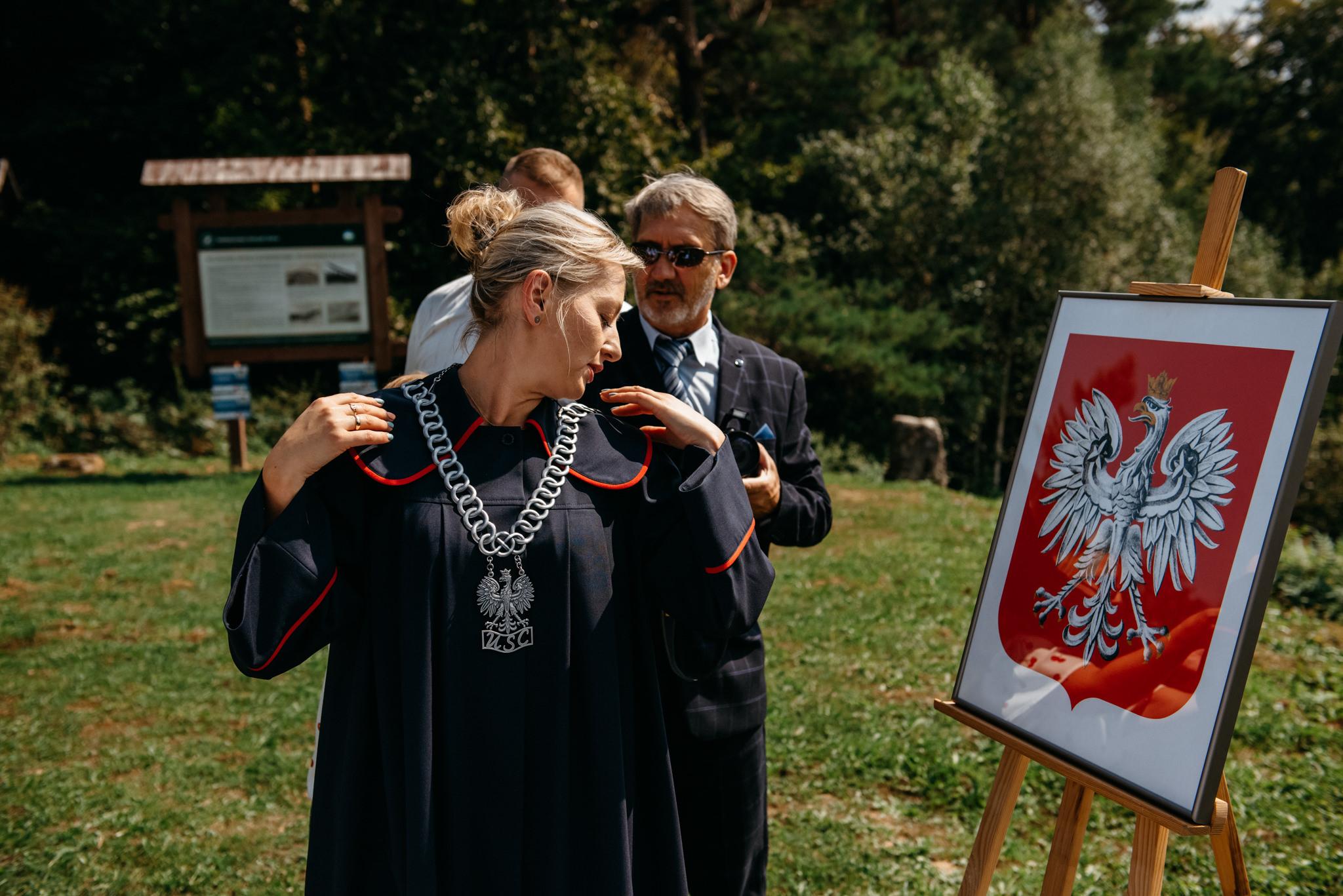 Plenerowy ślub w Bieszczadach | Karolina i Bartosz 19
